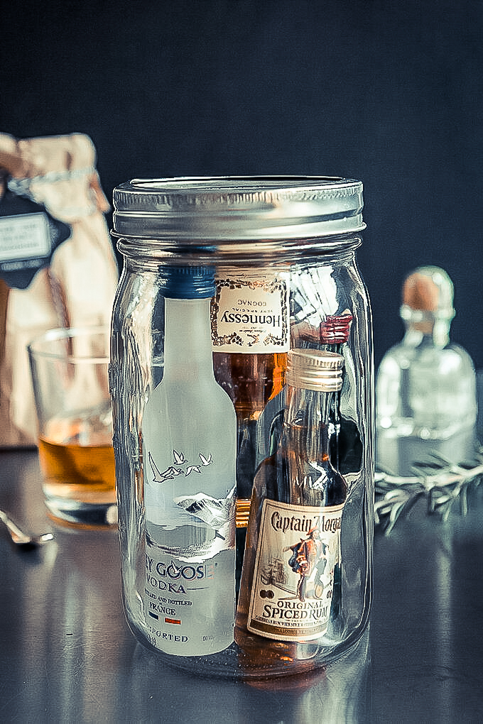 Mini Bar In A Jar Luxury Lifestyle Management